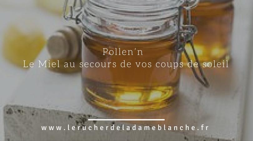 #1.Pollen'n -Le Miel au secours de vos coups de soleil