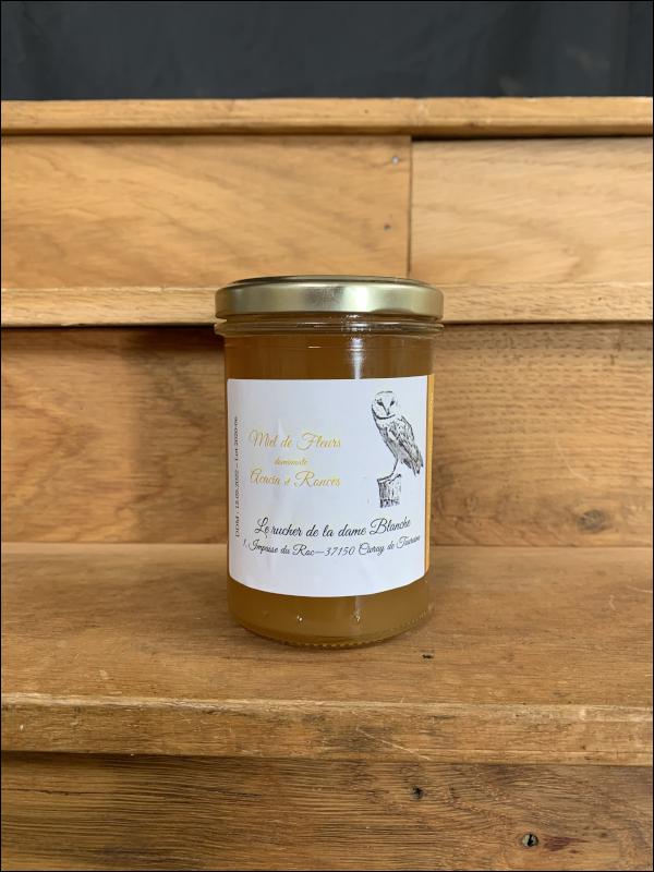 Miel de fleurs - acacia et ronces-Athé sur Cher
